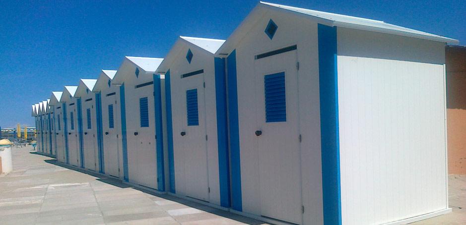 Mora plast s r l for Planimetrie della cabina della spiaggia